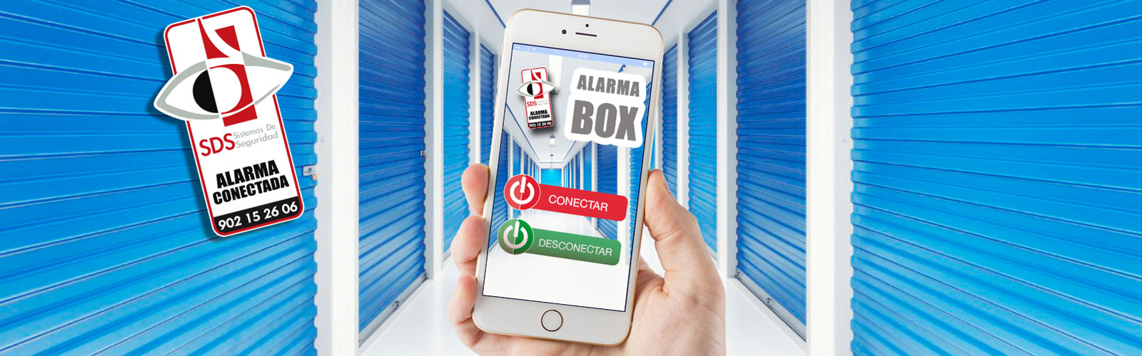 Sistema de Alarma Self Storage